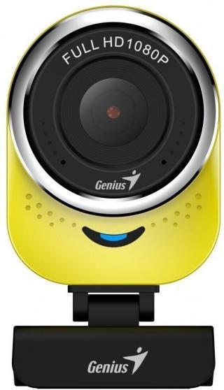 Genius Qcam 6000 Webkamera Žlutá Yellow