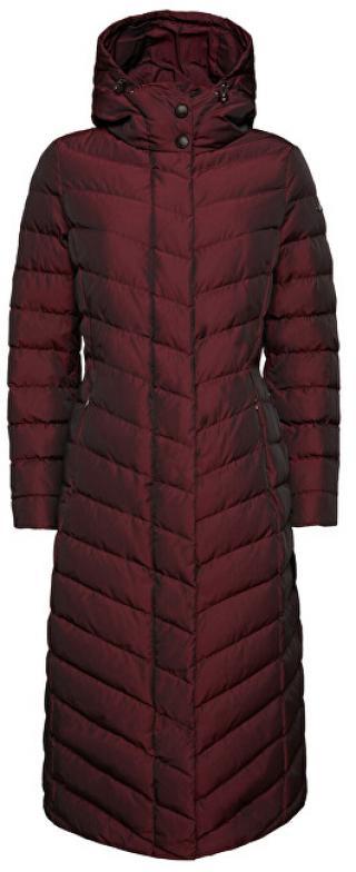 GEOX Dámský kabát W Seyla Dark Deep Raspberry W9425L-T2573-F8266 42 dámské