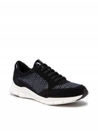 Geox Sneakersy D Sukie B D15F2B 022ZI C9999 Tmavomodrá dámské 37