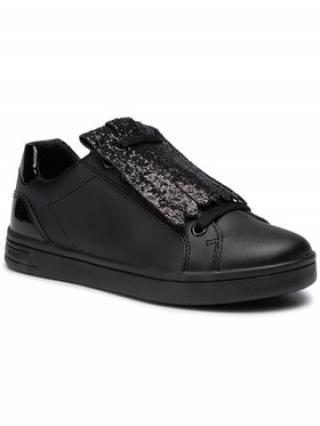 Geox Sneakersy J Djrock G. A J944MA 00043 C9999 S Černá dámské 32