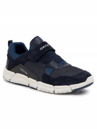 Geox Sneakersy J Flexyper B. D J029BD 01422 C0700 S Tmavomodrá pánské 38
