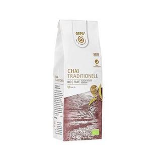 Gepa BIO Fairtrade černý čaj sypaný s kořením 100 g