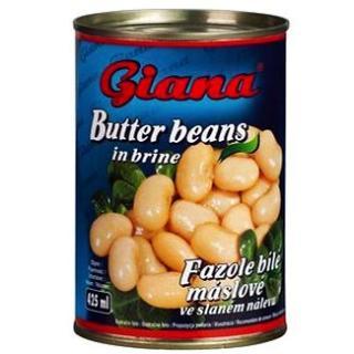 GIANA Fazole bílé máslové ve slaném nálevu 425 ml