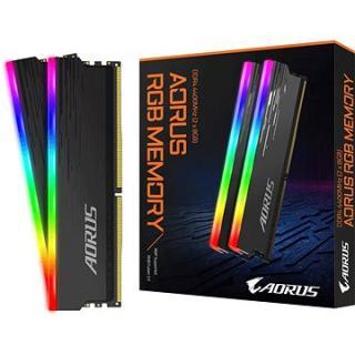 GIGABYTE AORUS 16GB KIT DDR4 4400MHz CL19 RGB