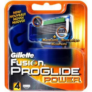 Gillette Náhradní hlavice Gillette Fusion Proglide Power 4 ks