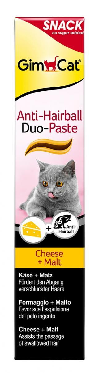 Gimcat Anti-hairball Duo pasta se sýrem a maltozou 50 g