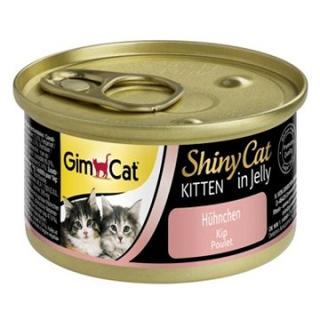 GimCat Shiny Cat kitten kuře 70 g