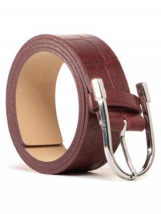 Gino Rossi Dámský pásek AD0682-000-BT00-7700-X Bordó 85