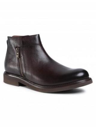 Gino Rossi Kotníková obuv MB-MACAO-05 Hnědá pánské 41