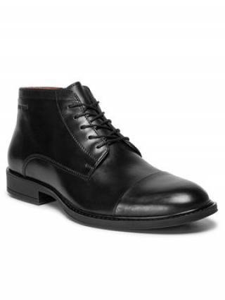 Gino Rossi Kotníková obuv MI08-C401-440-08 Černá pánské 44
