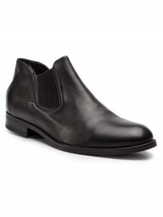 Gino Rossi Kotníková obuv s elastickým prvkem Chuck MSV616-K36-DZ00-3700-0 Hnědá pánské 44