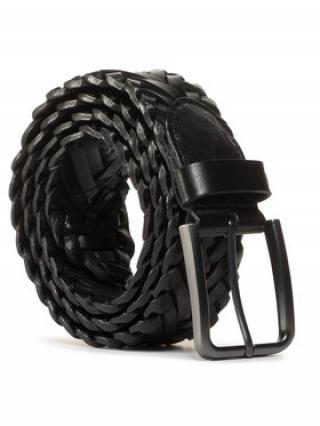 Gino Rossi Pánský pásek AM0588-000-BGBG-9900-X Černá 100