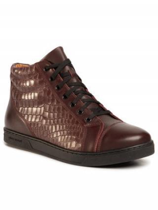 Gino Rossi Sneakersy Dex MTU439-K55-0793-7777-0 Bordó pánské 40