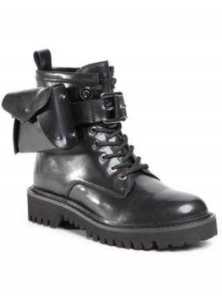 Gino Rossi Turistická obuv V032H-388-1 Černá dámské 38