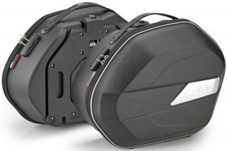 Givi WL900 Weighless Pair of Semi Rigid Side Bags 25L Monokey