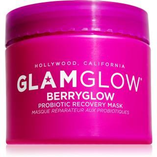 Glam Glow Berryglow Probiotic Recovery Mask hydratační a rozjasňující maska s probiotiky 75 ml dámské 75 ml