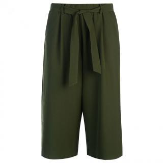 Golddigga Tie Trousers Ladies dámské Khaki | Other XL