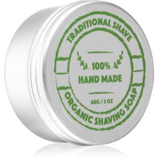 Golden Beards Organic Shaving Soap holicí mýdlo pro muže 60 g pánské 60 g
