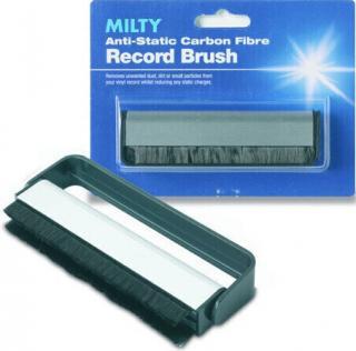 Goldring Carbon Fibre Record Brush Green