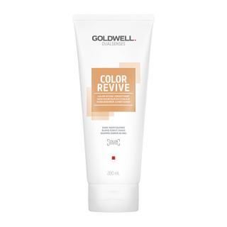 Goldwell Tónovací kondicionér Dark Warm Blonde Dualsenses Color Revive  200 ml dámské