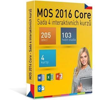 GOPAS MS MOS 2016 -  Sada 4 interaktivních kurzů na 365 dní CZ