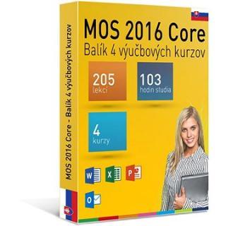 GOPAS MS MOS 2016 -  Sada 4 interaktivních kurzů na 365 dní SK