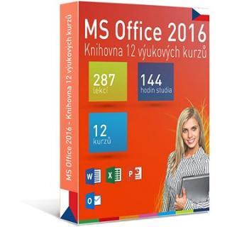GOPAS MS Office 2016 -  12 samostudijních výukových kurzů na 365 dní CZ