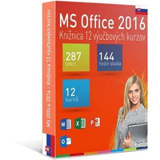 GOPAS MS Office 2016 -  12 samostudijních výukových kurzů na 365 dní SK