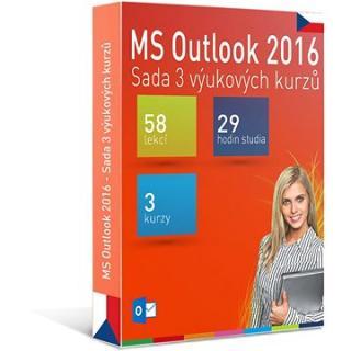 GOPAS MS Outlook 2016 - 3 samostudijní výukové kurzy na 365 dní CZ