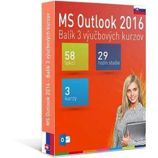 GOPAS MS Outlook 2016 - 3 samostudijní výukové kurzy na 365 dní SK