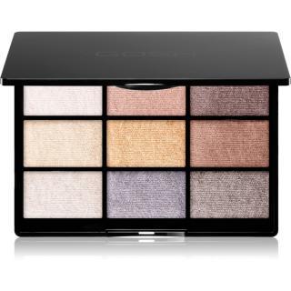 Gosh 9 Shades Palette paleta očních stínů se zrcátkem odstín 005 To party in London 12 g dámské 12 g