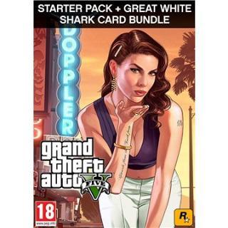 Grand Theft Auto V   Criminal Enterprise Starter Pack   Great White Shark Card (PC) DIGITAL