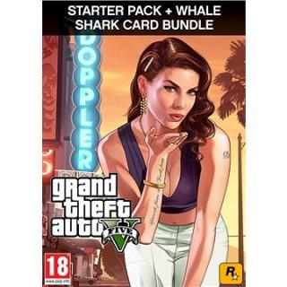 Grand Theft Auto V   Criminal Enterprise Starter Pack   Whale Shark Card (PC) DIGITAL