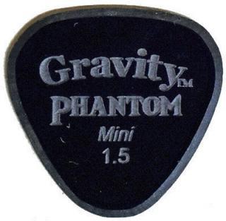 Gravity Picks Axis Mini 1.5mm Master Finish Phantom Black