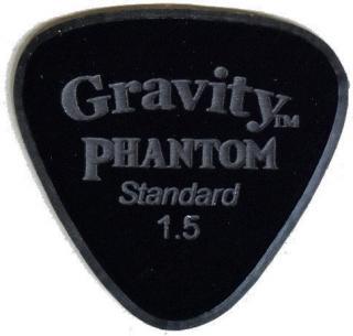 Gravity Picks Axis Standard 1.5mm Master Finish Phantom Black