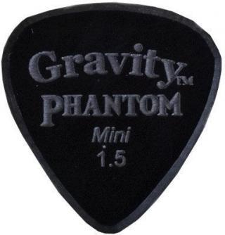 Gravity Picks Classic Mini 1.5mm Master Finish Phantom Black