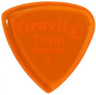 Gravity Picks GTRS3P Tripp Standard 3.0mm Polished Orange