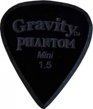Gravity Picks Razer Mini 1.5mm Master Finish Phantom Black
