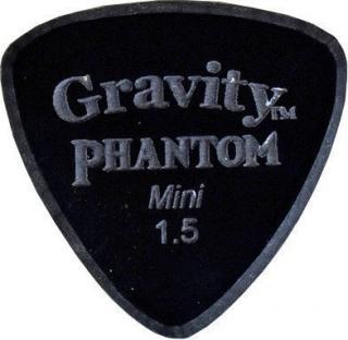 Gravity Picks Striker Mini 1.5mm Master Finish Phantom Black