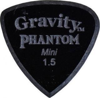 Gravity Picks Tripp Mini 1.5mm Master Finish Phantom Black