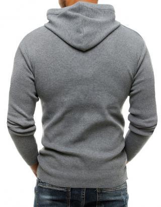 Gray mens hooded sweater WX1465 pánské Neurčeno M