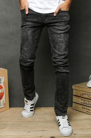 Gray mens jeans trousers UX2664 pánské Neurčeno 30