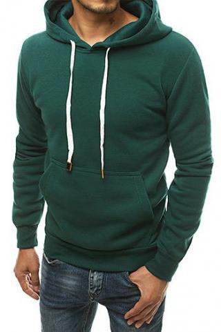 Green mens hoodie BX4700 pánské Neurčeno XL