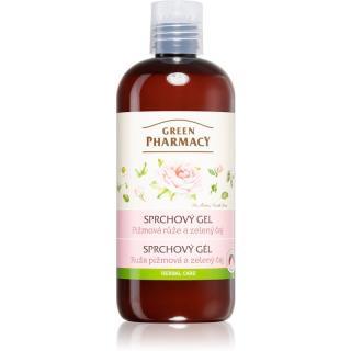 Green Pharmacy Body Care Rose & Green Tea jemný sprchový gel 500 ml dámské 500 ml