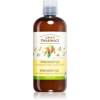 Green Pharmacy Body Care Shea Butter & Green Coffee svěží sprchový gel 500 ml dámské 500 ml