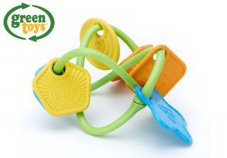 GREEN TOYS Chrastítko mix barev