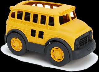 GREEN TOYS Školní autobus žlutá