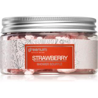 Greenum Strawberry tělové suflé do sprchy 160 g dámské 160 g