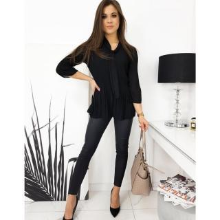 GRUMOSSO womens blouse black RY0506 dámské Neurčeno One size