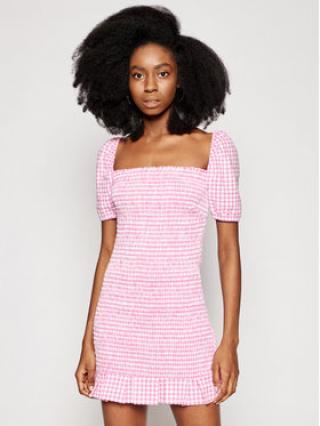 Guess Každodenní šaty Aida W1GK0Y WDV70 Růžová Slim Fit dámské L